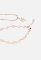 ALDO - Traschio bracelet set of two - rose gold