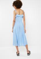 Vero Moda - Free midi dress - blue
