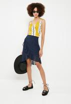 Vero Moda - Reem skirt - navy