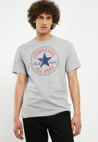 Converse - Converse chuck patch tee - grey