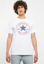 Converse - Converse chuck patch tee - white