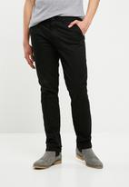 Superbalist - Slim chino - black