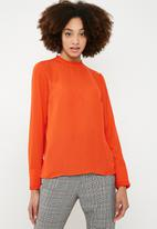Vero Moda - Luigi long sleeve top - orange