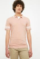 Only & Sons - Palle muscle fit polo - peach