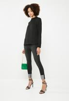 Vero Moda - Luigi long sleeve top - black