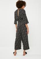 Vero Moda - Minna jumpsuit - black & taupe