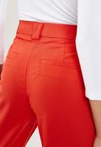 Vero Moda - Ella pants - red
