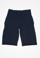 Superbalist - Kids boys roll up jogger shorts - navy