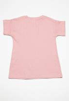 Superbalist - Kids girls embroidered frill top - pink