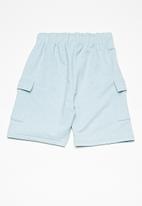 basicthread - Draw cord utility shorts -  blue