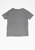 MINOTI - Kids boys chill bro T-shirt - charcoal