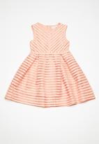 name it - Kelly sleeveless dress - peach