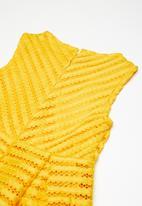 name it - Kelly short sleeve dress - yellow