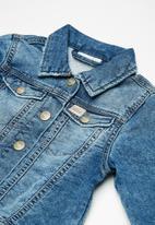 name it - Fessa denim jacket - blue