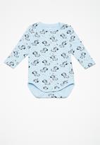 name it - Gaston long sleeve body vest - blue