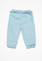 name it - Cherry bloomer long pants - blue