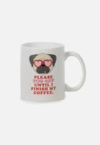 Typo - Anytime mug - pug off
