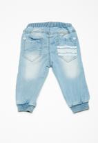 name it - Bob art denim pants - blue