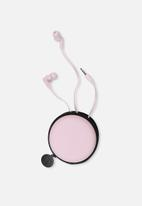 Typo - Travel earphones - baby pink