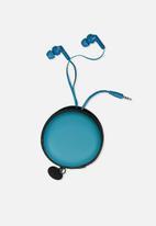 Typo - Travel earphones - june bug