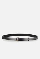 Cotton On - Mila belt - black