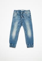 name it - Tonny slim denim pants - blue
