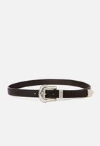 Supré  - Western belt - black