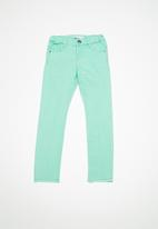 name it - Polly twilight long pants - green