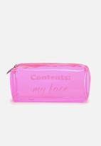 Supré  - Goto beauty case - pink