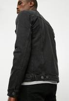 Jack & Jones - Alvin denim jacket - black