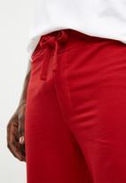 Jack & Jones - Sweat short - red