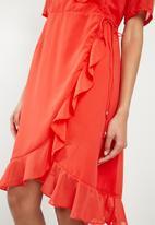 Vero Moda - Reem dress - red