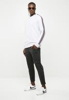 New Look - Colour stripe tape sweater - grey
