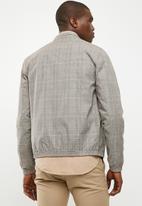 New Look - Check harrington - grey & beige