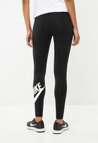 Nike - Legasee logo leggings - black