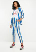 New Look - Vanilla co-ord pull on trousers - blue