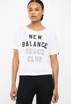 New Balance  - Essentials tee - white