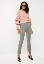 New Look - Long sleeve tier knit - pink