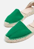 Espadril - Espadrille - green