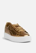 Basket Platform Luxe Wn s - 366687 02 - ermine PUMA Sneakers ... 56d8ed25343