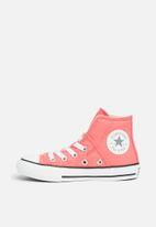 Converse - Chuck Taylor All Star Pull-Zip Hi - punch coral/cool grey/white