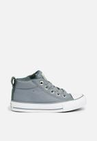 Converse - Chuck Taylor All Star Street Mid - cool grey/vintage green/white