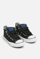 Converse - Chuck Taylor All Star Street Mid - black/hyper royal/white