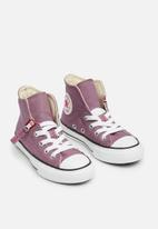 Converse - Chuck Taylor All Star Pull-Zip Hi - violet dust/pink pop/white