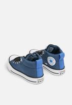 Converse - Chuck Taylor All Star Street Mid - mason blue/black/white
