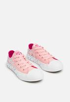Converse - Chuck Taylor All Star Ox - storm pink/pink pop/white
