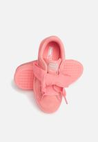 PUMA - Suede Heart Sneaker PS - shell pink
