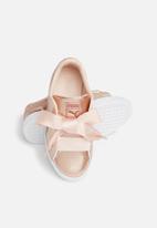 PUMA - Basket Heart Lunar Lux - pearl pink