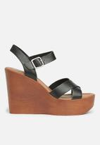 Steve Madden - Piranna - black leather