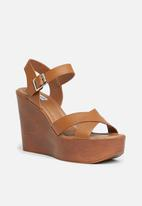 Steve Madden - Piranna - tan leather